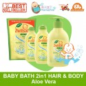 Zwitsal Baby Bath 2in1 Hair & Body Aloe Vera