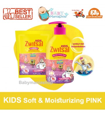 Zwitsal Kids 2in1 Hair & Body Wash Bubble Bath