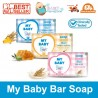 My Baby Soap Baby Bar 75gr Soft & Gentle Fresh Fruity Sweet Floral