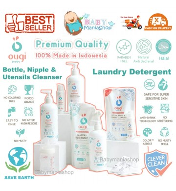 OUGI Laundry Detergent & Bottle Cleaner