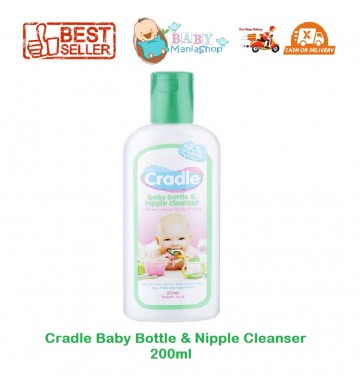 Cradle Baby Bottle & Nipple Cleanser 200ml