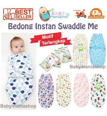 Bedong Instan Swaddle Me