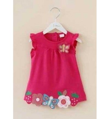 Dress Butterfly Rose