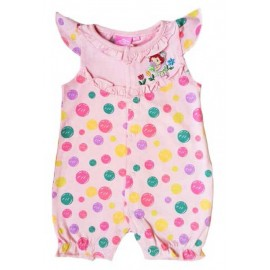 Romper Strawberry Pink Polka