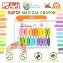 Magical Crayon 24 Pcs